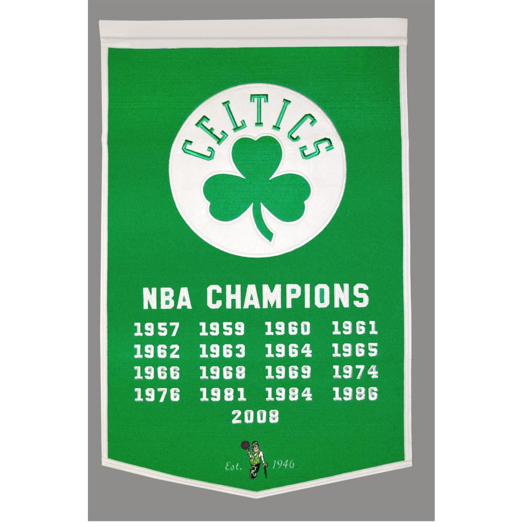 Boston Celtics NBA Dynasty Banner