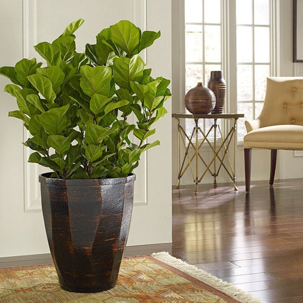 Polyresin Copperworks Large Planter (Indonesia)