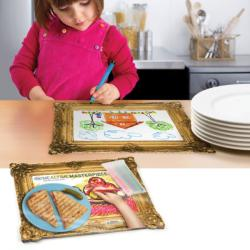 Mealtime Masterpiece Children's Draw and Dine Placemats - Thumbnail 1