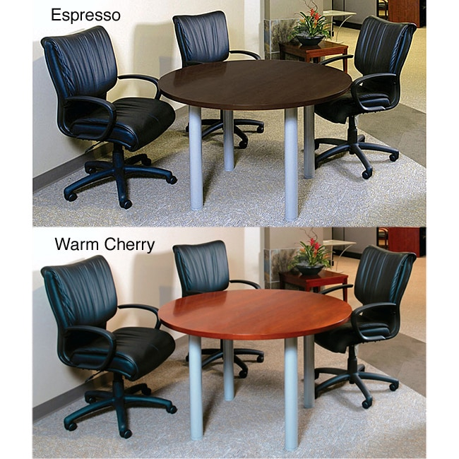 Mayline Eclipse Inch Round Conference Table Free Shipping Today - 48 inch round conference table