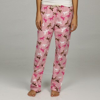 Leisureland Women's Horse Lounge Pants|https://ak1.ostkcdn.com/images/products/5548959/P13323341.jpg?_ostk_perf_=percv&impolicy=medium