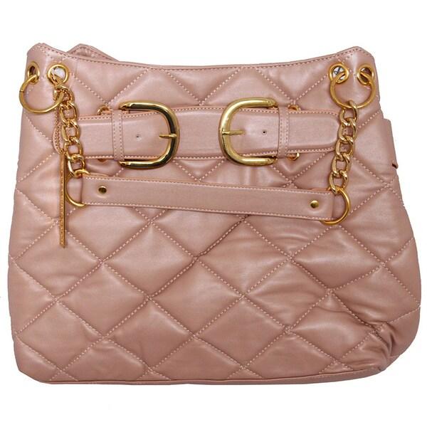 Chinese Laundry Large Quilted Designer Handbag
