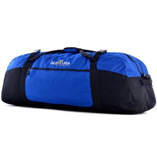 Olympia Sports Plus 36-inch Polyester Sports Duffel (Option: Blue)