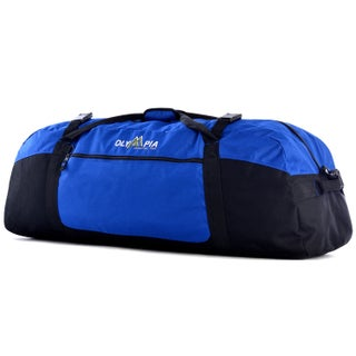 Olympia Compactible 42-inch Foldable Sports Duffel Bag (Option: Blue)