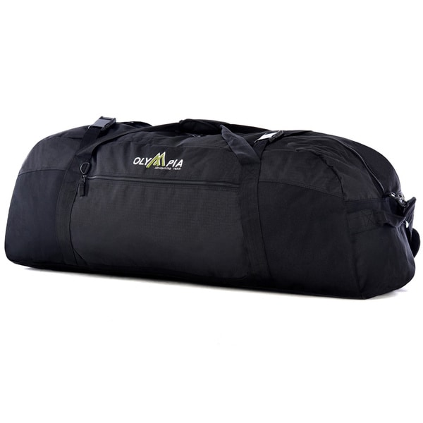 Shop Olympia Compactible 42-inch Foldable Sports Duffel Bag - Free ... 5e047e36a8db0