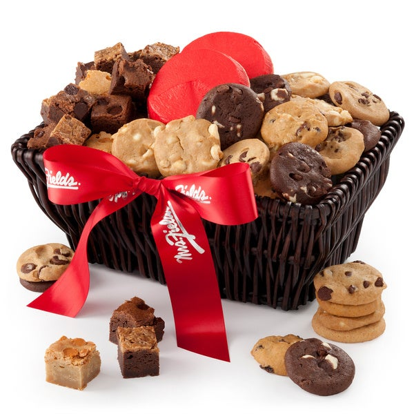 Mrs. Fields - Sweet Sampler Cookie/Brownie Gift Basket. Opens flyout.