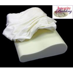 Soft Ergonomic Contour Visco Memory Foam Pillow - Thumbnail 1