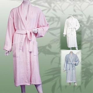 Leisureland Women's 47-inch Jacquard Bath Robe|https://ak1.ostkcdn.com/images/products/5550576/P13324573.jpg?impolicy=medium