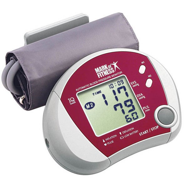 Mark of Fitness Automatic Blood Pressure Monitor
