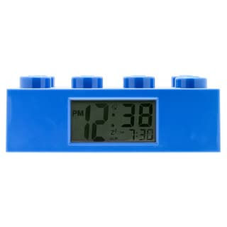 LEGO Blue Brick Clock