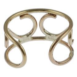 Goldfill 'S' Shape Ear Cuff - Thumbnail 1
