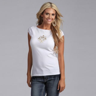 Yogacara Women's Ivory Boatneck Top (2 options available)