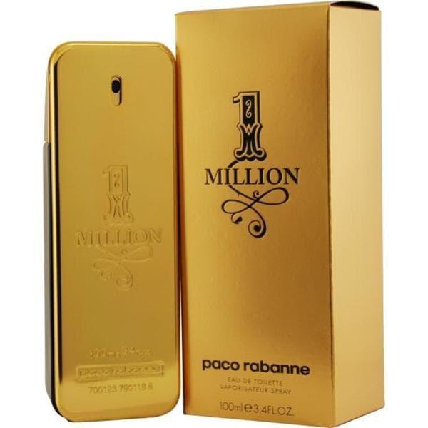 Shop Paco Rabanne 1 Million Mens 34 Ounce Eau De Toilette Spray