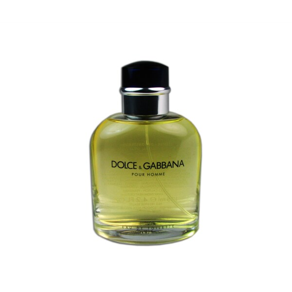 Dolce & Gabbana Men's 4.2-ounce Eau de Toilette (Tester) Spray
