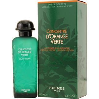 Hermes Hermes Dorange Vert Concentre Men's 3.3-ounce Eau de Toilette Spray
