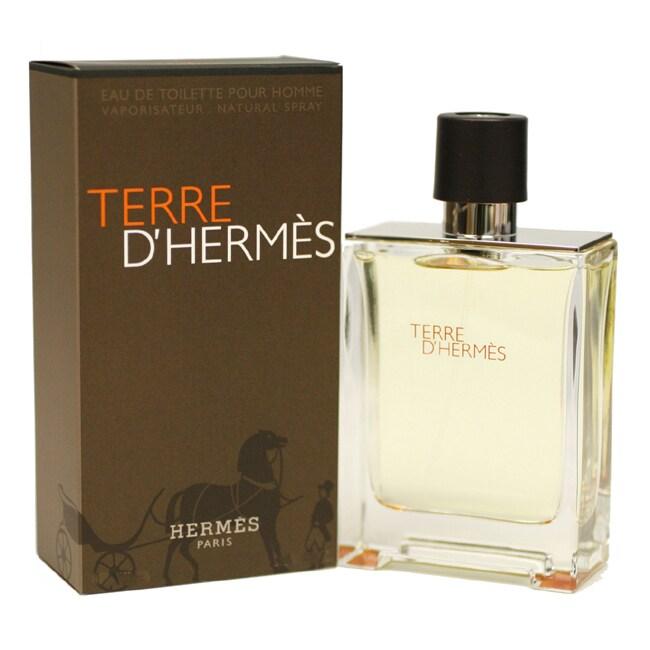 hermes Terre D'hermes Men's 6.8-ounce Eau de Toilette Spr...