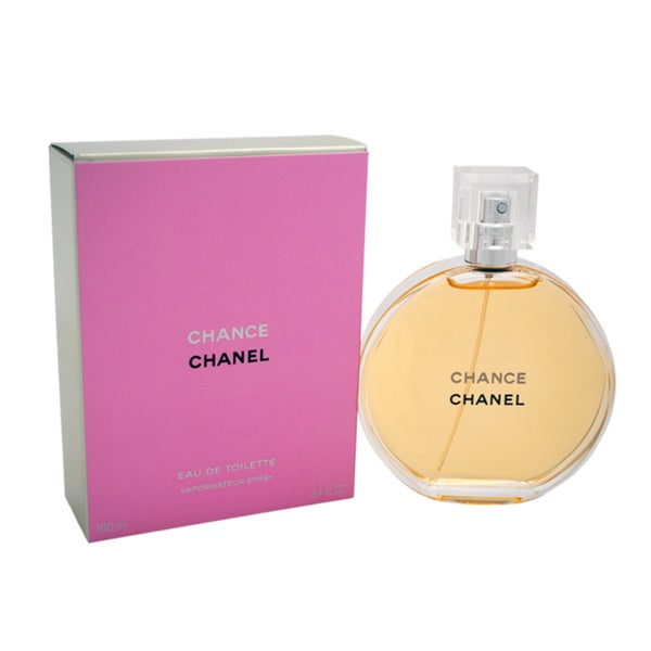 Shop Chanel Chance Women's 3.4-ounce Eau de Toilette Spray - Free Shipping Today - Overstock.com ...