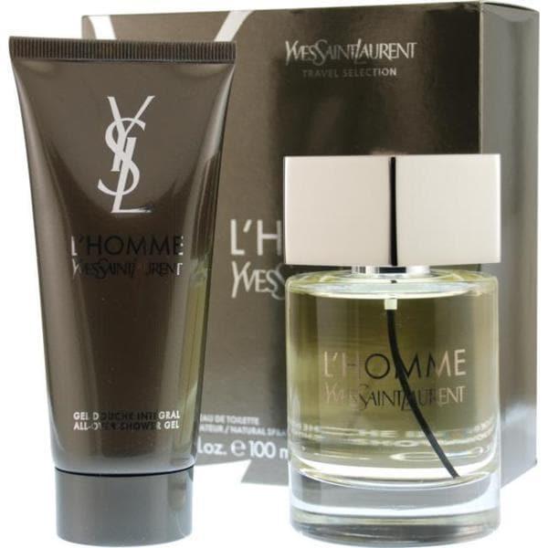 0e607d33697e Shop Yves Saint Laurent L Homme Yves Saint Laurent Men s Two-piece Fragrance  Set - Free Shipping Today - Overstock - 5551337