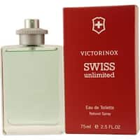 Victorinox Swiss Unlimited Men's 2.5-ounce Eau de Toilette Spray