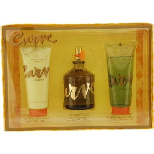Liz Claiborne Curve Men's Three-piece Fragrance Set