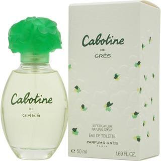 Parfums Gres Cabotine Women's 1.7-ounce Eau de Toilette Spray