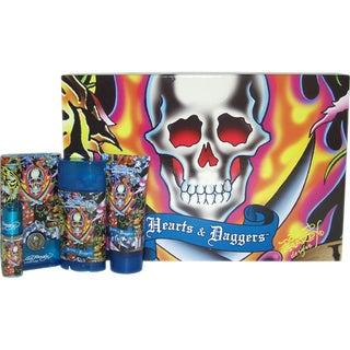 Ed Hardy Hearts & Daggers Men's Four-piece Fragrance Set