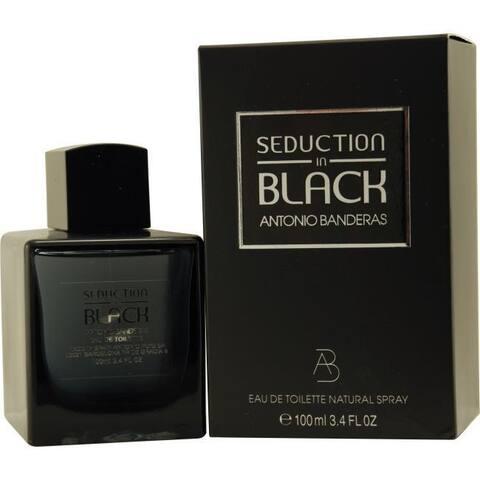 Antonio Banderas Seduction In Black Men's 3.4-ounce Eau de Toilette Spray