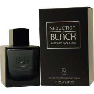 Antonio Banderas Seduction In Men's Black 3.4-ounce Eau de Toilette Spray
