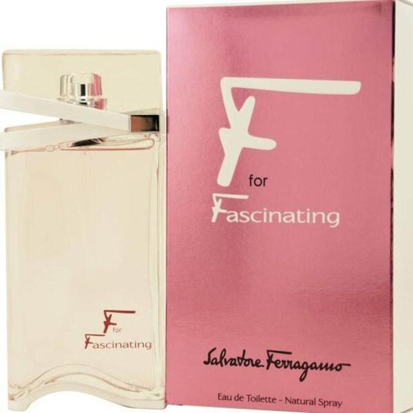 Salvatore Ferragamo 'F For Fascinating' Women's 1.7-ounce Eau de Toilette Spray