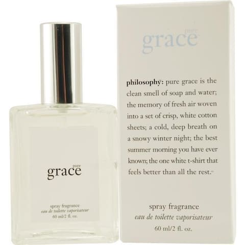 Philosophy Pure Grace Women's 2-ounce Eau de Toilette Spray