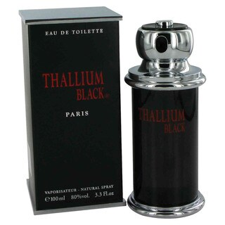 Yves de Sistelle Thallium Men's Black 3.3-ounce Eau de Toilette Spray