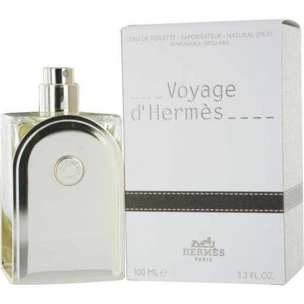 De Refillable Hermes Spray 3 Eau Dhermes Men's Toilette 3 Ounce Voyage shrxtdCQ