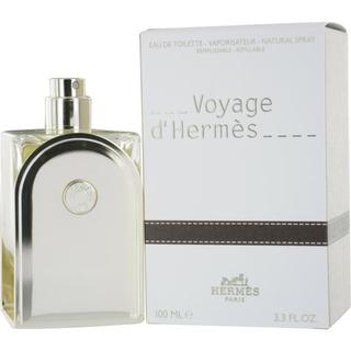 Hermes Voyage Dhermes Men's 3.3-ounce Eau de Toilette Refillable Spray