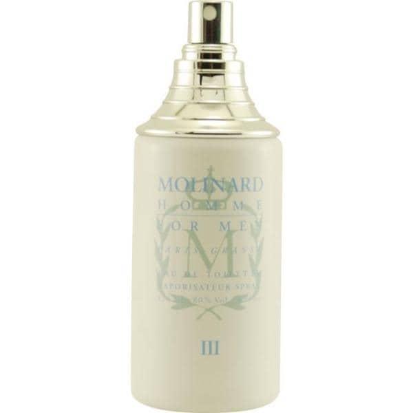 Molinard Men's 4-ounce Eau de Toilette (Tester) Spray