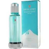 Victorinox Swiss Army Mountain Water Women's 3.4-ounce Eau de Toilette Spray