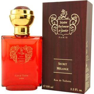 Maitre Parfumeur Et Gantier Men's 3.3-ounce Secret Melange Eau de Toil