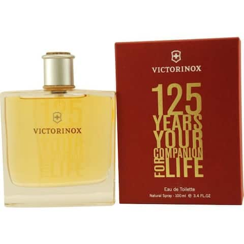 Victorinox Victorinox 125 Years Men's 3.4-ounce Eau de Toilette Spray