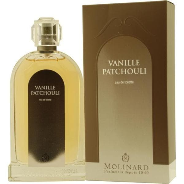 molinard les orientaux vanille patchouli s 3 3 ounce eau de toilette spray free shipping