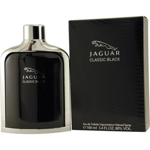 Jaguar Classic Black Men's 3.4-ounce Eau de Toilette Spray