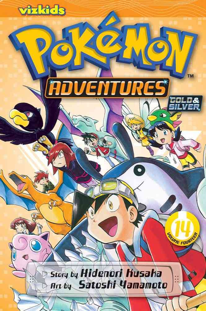 Pokemon Adventures 14: Gold & Silver (Paperback)