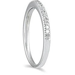 Marquee Jewels 10k White Gold 1/4ct TDW Diamond Ring (H-I, I1-I2)