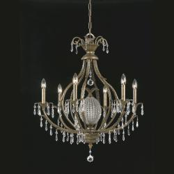Aloha 6-light Bronze Chandelier - Thumbnail 2