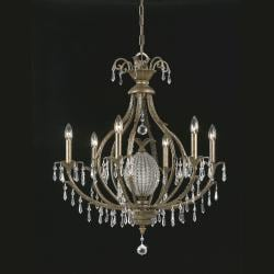 Aloha 6-light Bronze Chandelier
