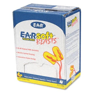 3M E-A-Rsoft Blasts Foam Ear Plugs (Case of 200)