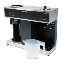 Bunn Pour-O-Matic 3-Burner Pour-Over Coffee Brewer - Thumbnail 1