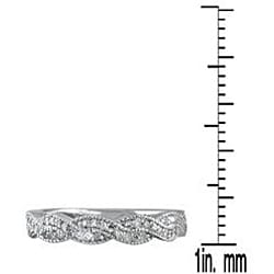 Marquee Jewels 10k Gold 1/3ct TDW Diamond Ring (H-I, I1-I2) - Thumbnail 2