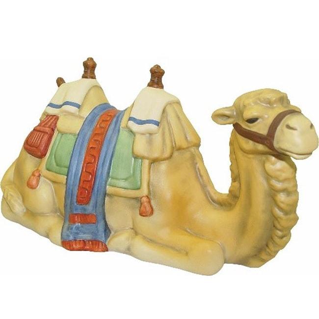 Hummel Lying Camel Porcelain Figurine, Brown