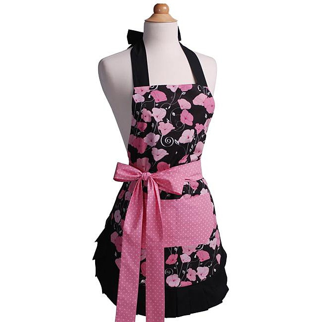 Midnight Bloom Women's Original Flirty Apron