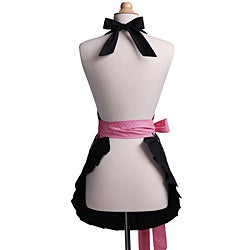 Midnight Bloom Women's Original Flirty Apron - Thumbnail 1