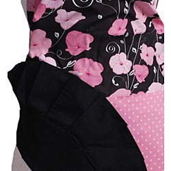 Midnight Bloom Women's Original Flirty Apron - Thumbnail 2
